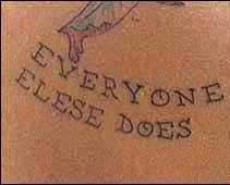 tatuaj gresit