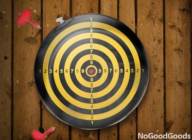 darts gonflabil