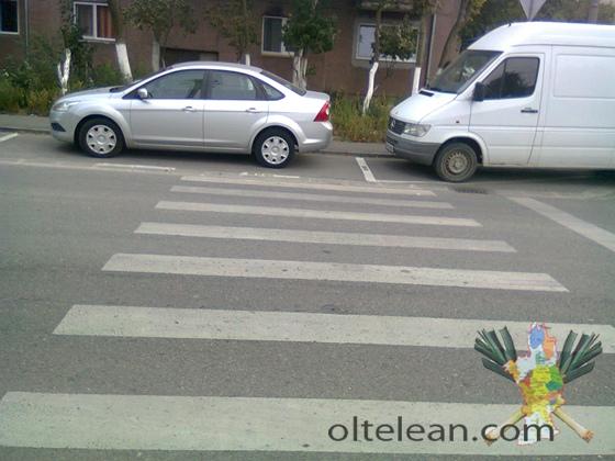 trotuar - parcare