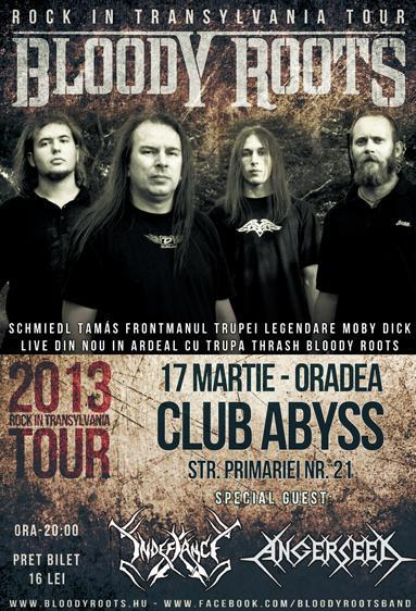 bloody roots oradea