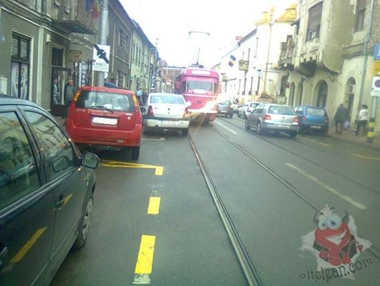 parcare tramvai