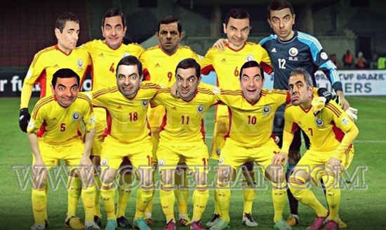 Nationala Romaniei - Mr. Bean