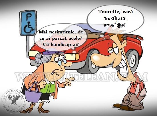 parcare handicapat