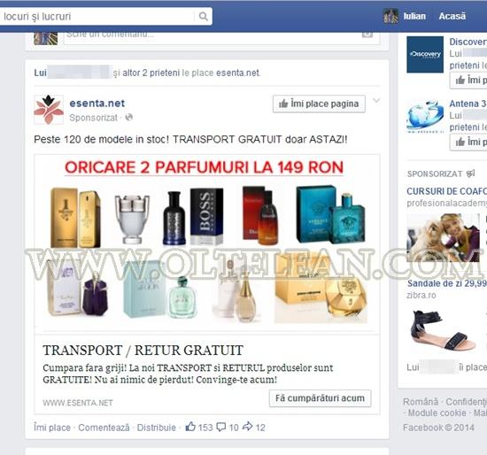 fake pe facebook