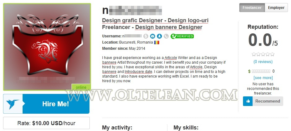 profil freelancer
