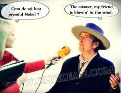 Banc de duminică: Cum de a luat Bob Dylan premiul Nobel ?