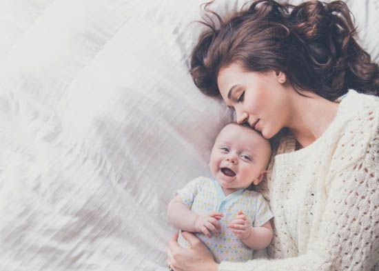 mama si copilul