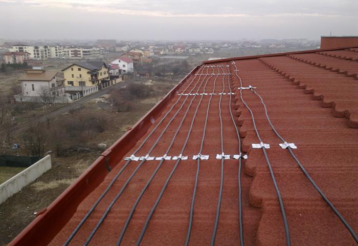 sistemul de degivrare pentru acoperisul casei de la carbon heat