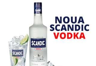Scandic-Vodka 37.5% 0,7L sticla- NOU
