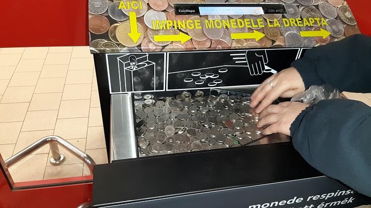 automat de schimbat monede