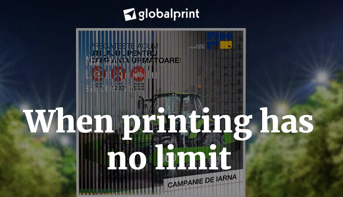 Publicitate eficienta cu print roll up
